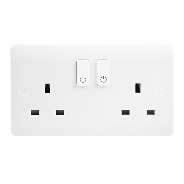 2 Gang Smart Socket