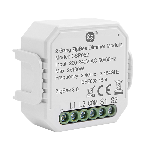 2 Gang Smart Dimming Receiver